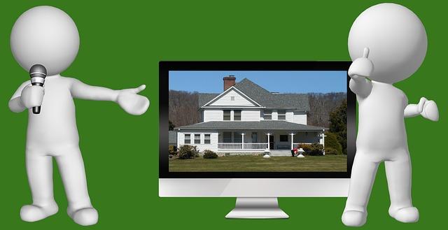 dům v televizi