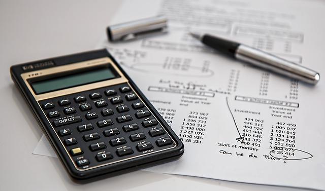 počítání financí