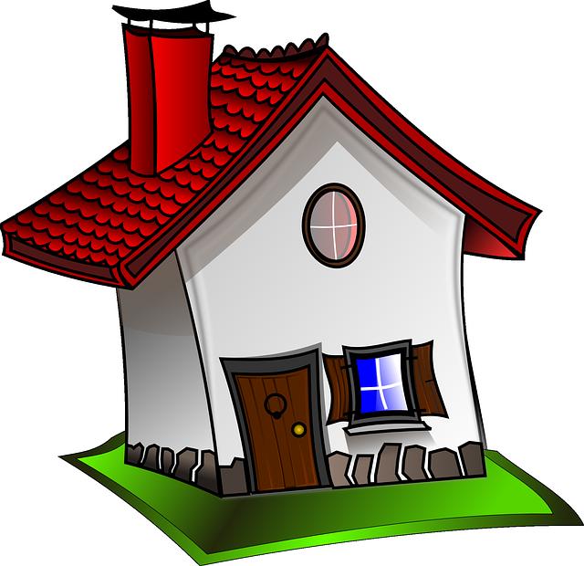 malovaný domeček