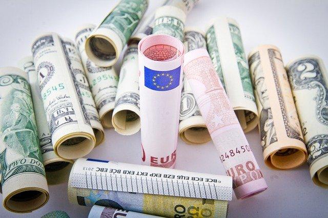ruličky z bankovek