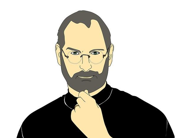 Steve Jobs ilustrace