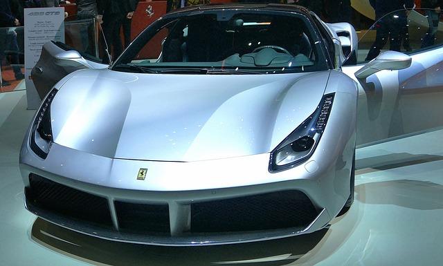 luxusní sportovní vůz