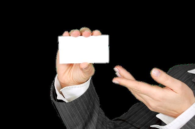 kartičky podnikatele
