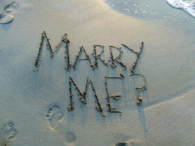 návrh manželství