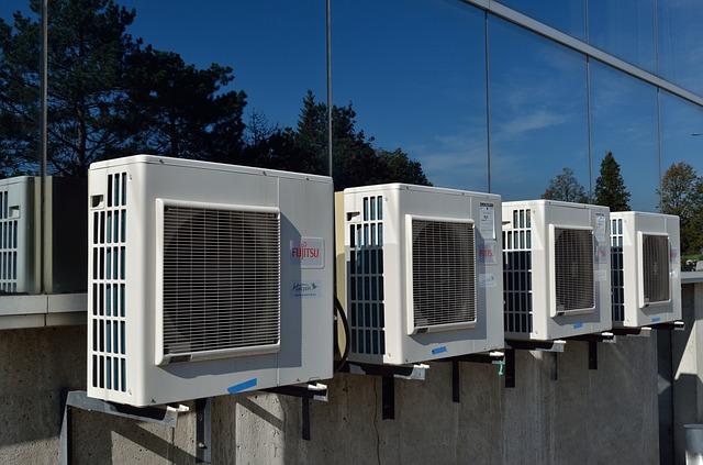 klimatizace na domě