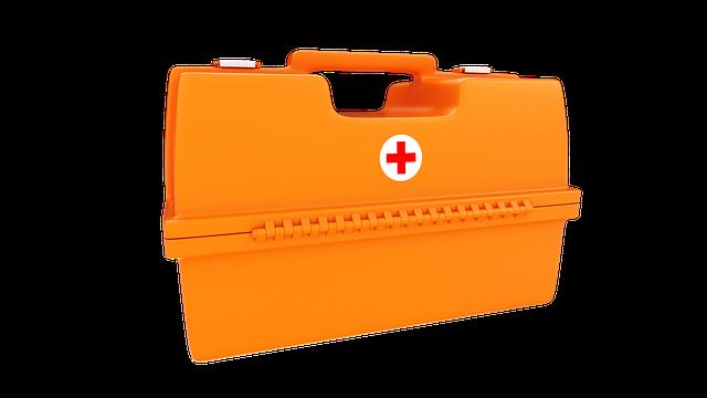 lékárnička záchranky
